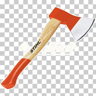 Axe Hatchet Splitting Maul Tool Stihl PNG