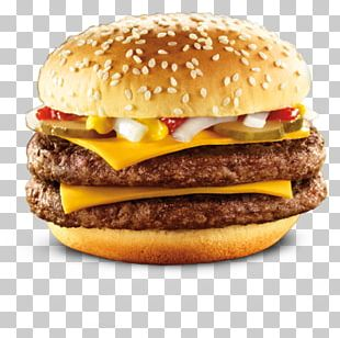 McDonald's Quarter Pounder Hamburger Cheeseburger McDonald's Big Mac McDonald's Chicken McNuggets PNG