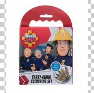 Fireman Sam Headgear Coloring Book Product Toy PNG