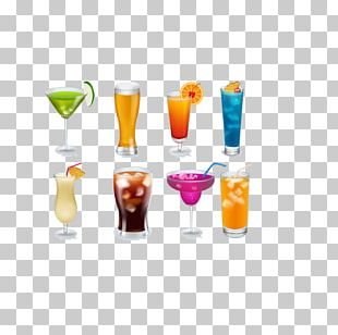 Orange Juice Cocktail Garnish Wine Glass Non-alcoholic Drink PNG