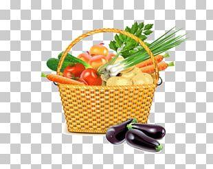 Parsley Root Basket Wicker Illustration PNG