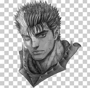 Guts Griffith Berserk Manga Fan Art PNG