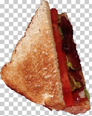 Hamburger Butterbrot Bacon Breakfast Sandwich BLT PNG
