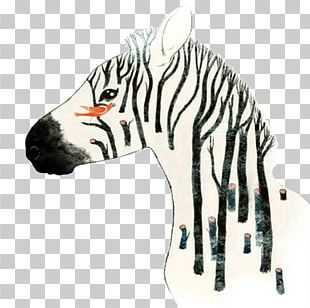 Zebra Art Graphic Design Illustration PNG
