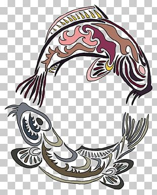 Koi Yin Yang Fish Yin And Yang Tattoo Troine PNG