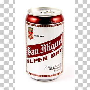 San Miguel Beer Aluminum Can Drink Philippines PNG