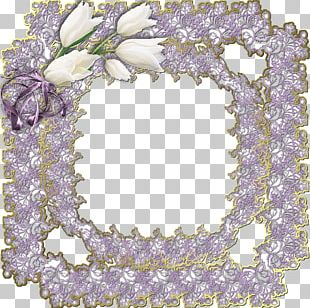 Floral Design Frames Body Jewellery PNG