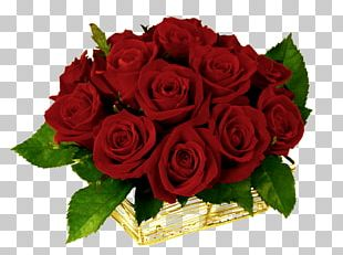 Flower Bouquet Rose Red Desktop PNG