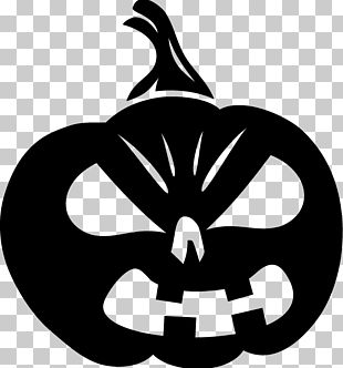 Halloween Jack-o'-lantern Pumpkin Sticker Decal PNG