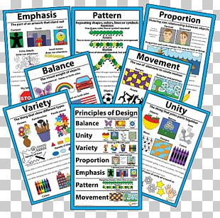 Visual Design Elements And Principles Elements Of Art Poster PNG