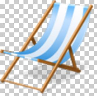 Beach Deckchair Chaise Longue Hotel PNG