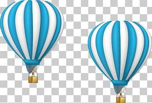 Hot Air Balloon Illustration PNG
