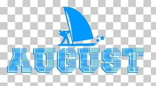 August With Sailboat. PNG