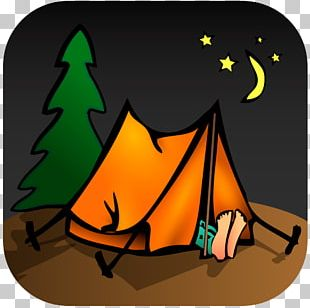 Camping Campsite Scouting Campervans PNG