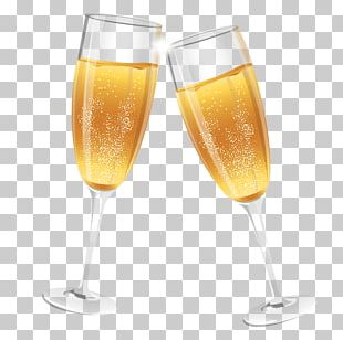 Champagne Glass Wine Cocktail PNG