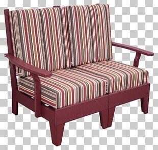 Loveseat Chair Garden Furniture Cushion PNG