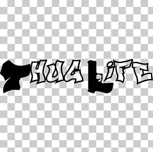Sticker Wall Decal Thug Life PNG