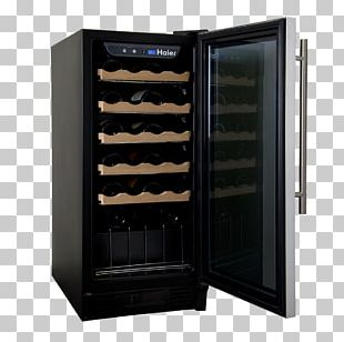 Wine Cooler Refrigerator Beer Wine Cellar PNG