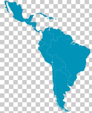 Latin America The Guianas United States Caribbean South America Southern Cone PNG