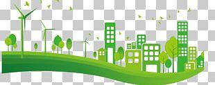 City Euclidean Green PNG