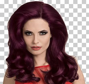 Hair Coloring Violet Staining PNG