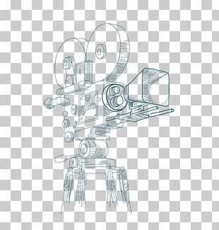 Photographic Film Drawing Video Camera PNG