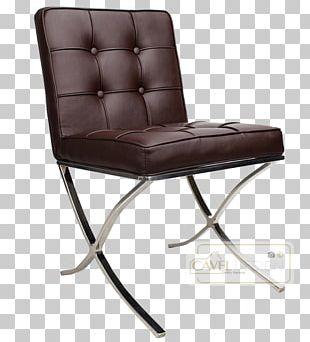 Barcelona Chair Barcelona Pavilion Eetkamerstoel Furniture PNG