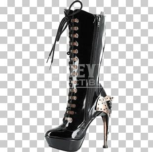 Steampunk Knee-high Boot Shoe Fashion Boot PNG