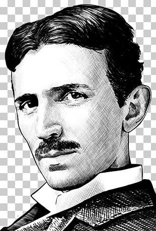 Nikola Tesla Alternating Current Invention Scientist Inventor PNG