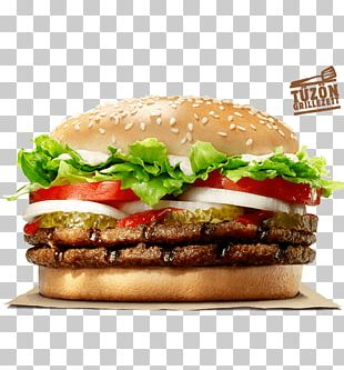 Whopper Hamburger Fast Food Chicken Sandwich Burger King PNG