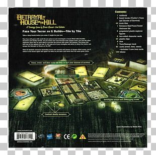Avalon Hill Betrayal At House On The Hill Tabletop Games & Expansions Board Game PNG