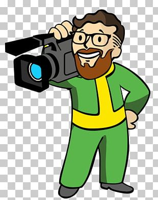 Camera Operator Fallout 4 Photography Video Game PNG