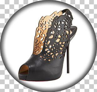 Fashion Show High-heeled Shoe Boot PNG