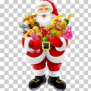 Santa Claus Christmas Day Christmas Ornament Christmas Tree Christmas Card PNG