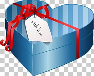Box Gift Valentines Day Heart PNG