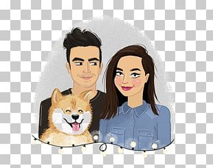 Cartoon Couple Significant Other Illustration PNG