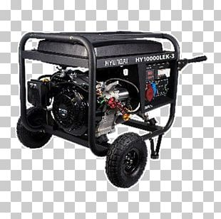 Electric Generator Hyundai Motor Company Engine-generator Electric Motor PNG