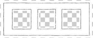 Window White Frame Pattern PNG