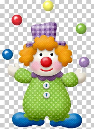 Clown Circus Juggling PNG