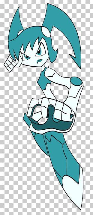 Robot Cyborg Girl Art Nicktoons PNG
