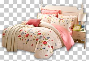 Bed Sheet Bed Frame Pillow PNG