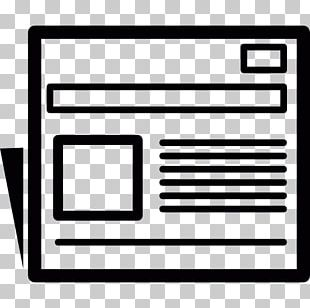 Newspaper Computer Icons Business Information Journalism PNG