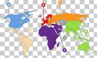 World Map Globe Atlas PNG
