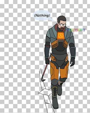 Half-Life 2 Gordon Freeman Drawing PNG