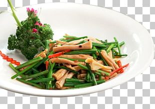 Namul Garlic Chives Leaf Vegetable PNG