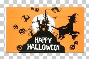 Megacom-ik Flag Halloween Party Banner PNG