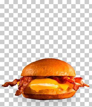 Breakfast Sandwich Hamburger Cheeseburger Fast Food Bacon Sandwich PNG