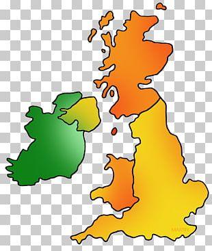 Great Britain Map Of UK And Ireland British Isles Blank Map PNG