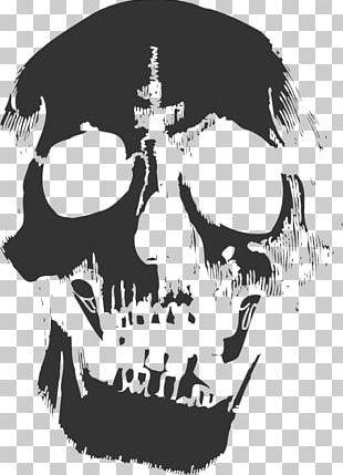 Skull Smells Like Teen Spirit PNG