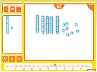 Base Ten Blocks Nonpositional Numeral System Decimal Number Line Radix PNG